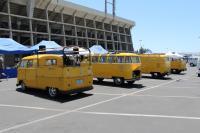 Postal Yellow Buses at OCTO - June, 2018