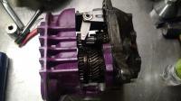 091 6-rib transmission build - teardown