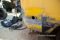1971 bus battery corner
