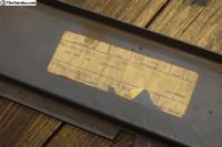 NOS Innersill, left 68-79 baywindow 211 801 391 C Repair panel