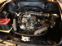 1968 VW Karmann Ghia Convertible Black