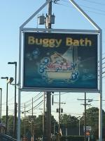 Car Wash Sign with VW