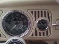 Dash Grill Panel with Guage