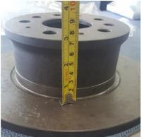 1971-72 Brake Rotor Hat measurement