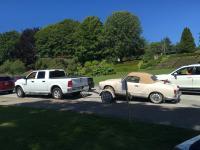 70/71 ghia coupe crossing into Canada