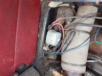 Unknown Aluminium box under rear seat