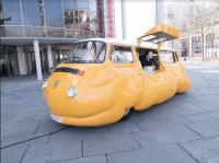 Hot Dog Bus Bay Window