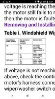Wiper Switch Test