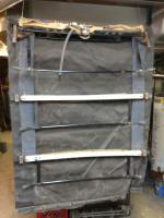Three fold sunroof restoration and installation