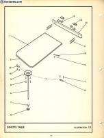 Westfalia Table Catch 1967-5/69
