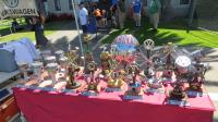 """Raffle and show organizer's tables at """"Camp & Shine"""" Lakeport, CA Sat. June 16th, 2018"""