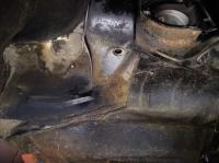 Type 3 pan sub frame mount modified