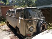 Rotting bus