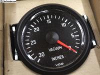 VDO Cockpit 0~30 in.Hg inlet-manifold vacuum gauge