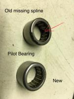 Pilot Bearing Removal