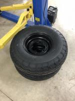 "6"" widened smoothies and Baja Pro 9.00-15 tires"