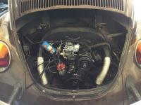 Super Beetle Engine Bay