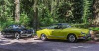 1972 Saturn Yellow Karmann Ghia Coupe