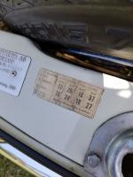 Tire pressure sticker on 1965 Squareback