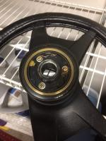Steering Wheel Backside w/horn ring