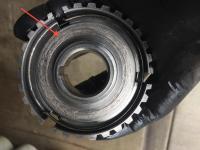 poor 3rd gear weld