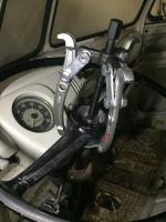 split bus steering wheel pull