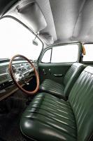 British Racing Green (BRG) vinyl interior seat covering