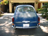 1966 Fastback VW Blue