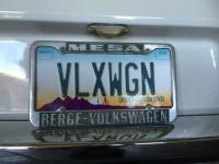 Berge Volkswagen license plate frame