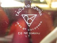 Quarter glass etching