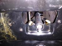 Early emergency brake install