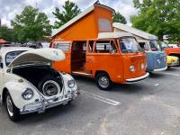 The Brilliant Orange Time Capsule and ultralite's 69 Westy