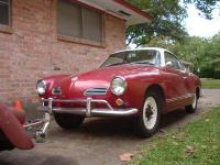 My borther's 1963 Ghia with new paint