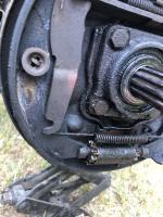 Henige rear brakes