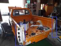 Caddy MK1 rear coners