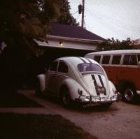 my old 61 bug i nabout 1971