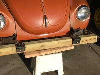 Super Beetle Tow Bar on the Cheap