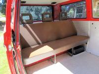 Standard rear bench (not a Z bed)