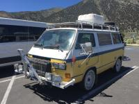 Vanagon going through Hell