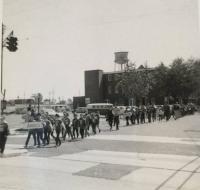 old bus Neptune city nj Memorial Day Parade