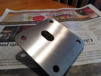 Sewell Speed Shop oil pump cover
