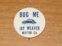 Volkswagen Dealership Promo Pinback Button