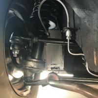 1972 Super Beetle rebuilt suspension adjustable struts