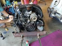 1966 beetle engine removal pics