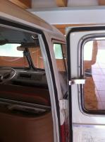 VW split bus door shutting problems