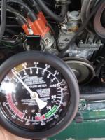 Pump pressure (fuel)