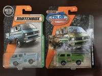 Matchbox VW cars