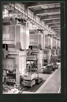 Factory presses in Hannover