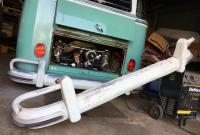 Saving a hacked and mangled deluxe slash bumper part 3