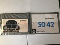 1967 Westfalia SO42 Tourist Delivery Paperwork